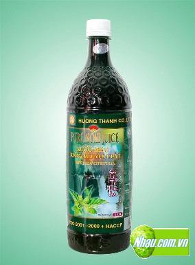 노니 주스 (Noni Juice - Nước cốt nhàu)
